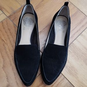 Vince Camuto Black Loafers